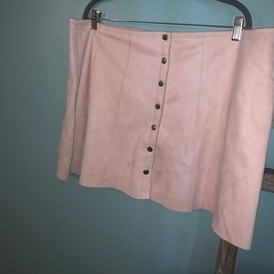 NWT forever 21 suede skirt